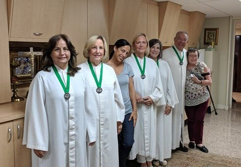 Lectors and Eucharistic ministers